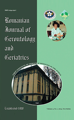 Romanian Journal of Gerontology and Geriatrics