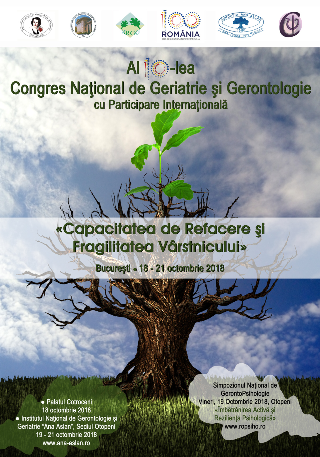 10th National Congress of Geriatrics and Gerontology with International Participation